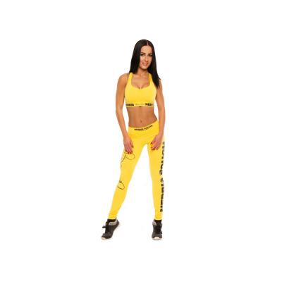 Healthnfitness nebbia legging 809 yellow 1